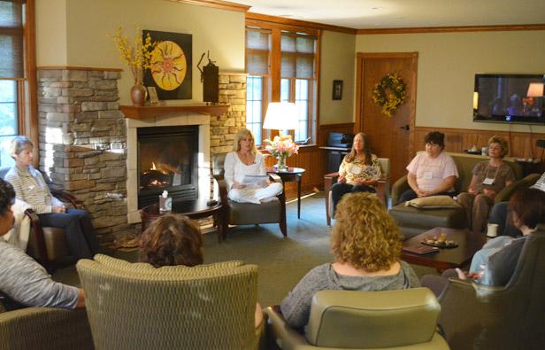 Morning Meditation at COR Retreat