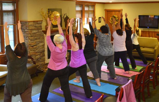 Recovery Yoga at COR Retreat