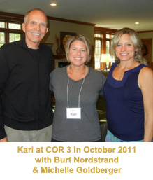 Kari at COR Retreat